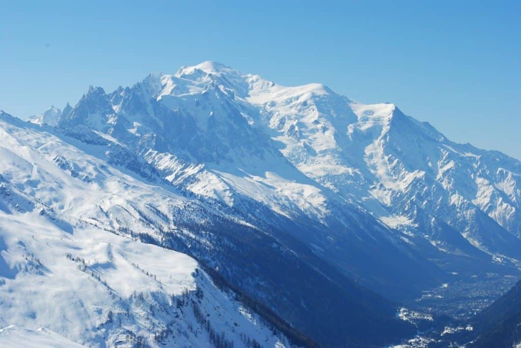 French ski resorts Chamonix Mont Blanc