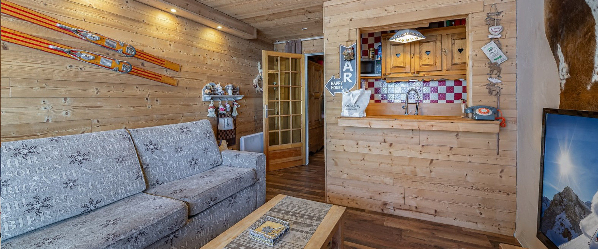 2 Studio Apartments for sale in Val Thorens, France ...