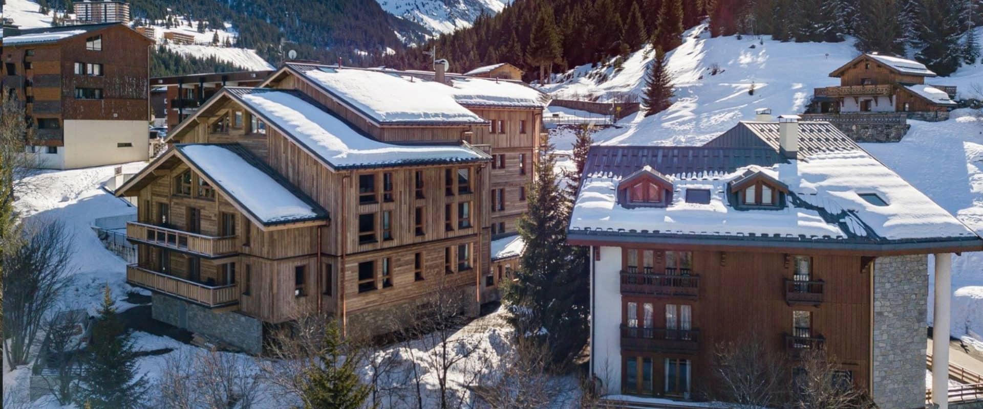 New ski-in, ski-out apartments for sale Courchevel Village ...